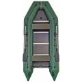 Надувная лодка Kolibri КМ-360D с жестким дном и надувным килем