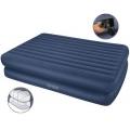Двуспальная надувная кровать с насосом Intex 66710 (152*203*48)