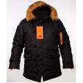 Куртка зимняя Chameleon Аляска N-3B Black