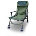 Складное карповое кресло c подлокотником CARP PRO - 52x55x92cm