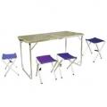 Стол со стульями Tramp TRF-005