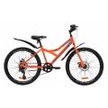 """Велосипед Discovery FLINT DD с крылом Pl ST 24"""" 2020"""