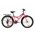 "Велосипед Discovery FLINT Vbr с багажником зад St, с крылом St ST 24"" 2020"