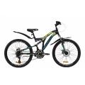"""Велосипед Discovery ROCKET AM2 DD с крылом Pl ST 24"""" 2020"""
